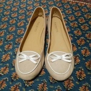 Talbots canvas flats